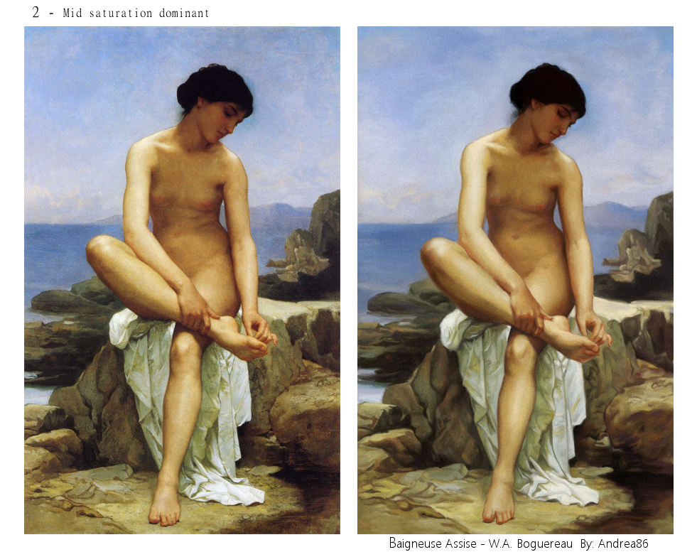 Bouguereau Assise by Andreiuska