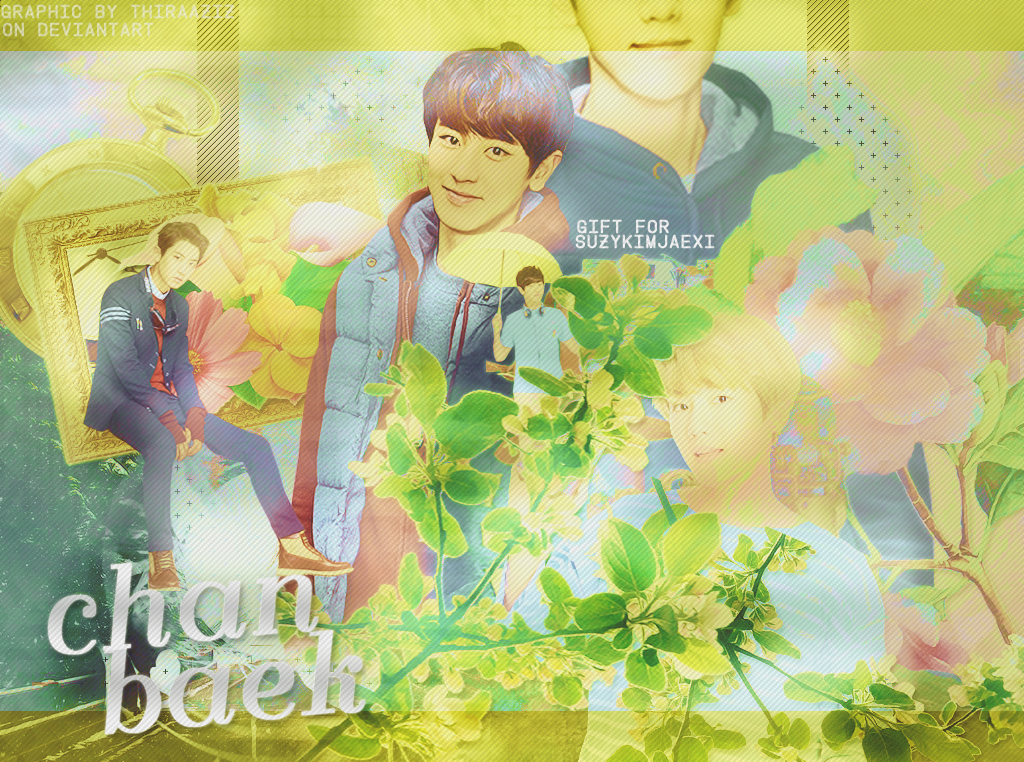 [SHARE PSD] ChanBaek Gift by Thiraaziz