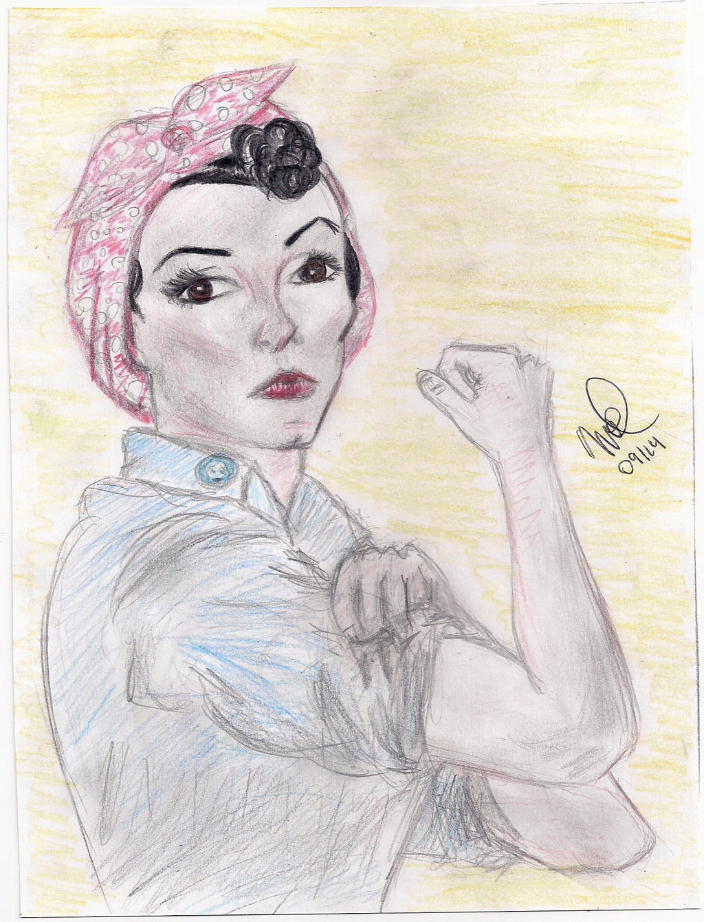 Rosie the Riveter sketch by BelenMrsC