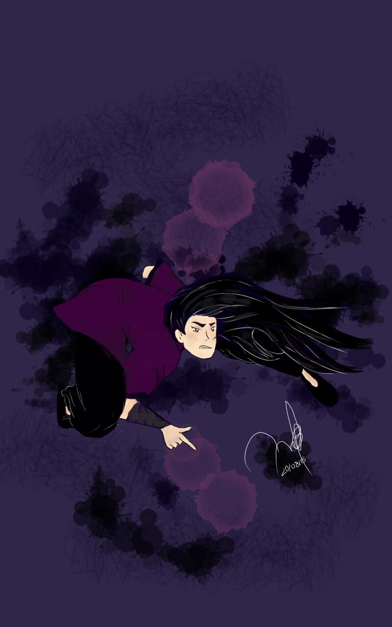Purple fighter  by BelenMrsC