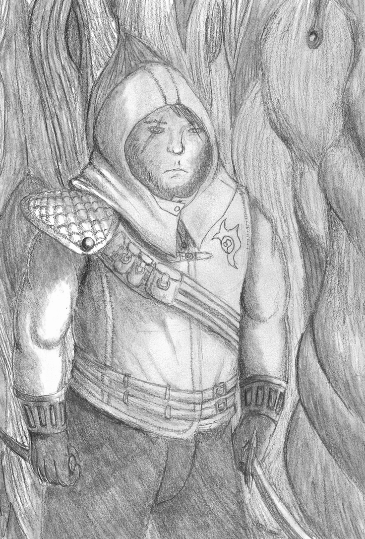 Underworld Ascendant Fan Art - Thief guy by Nekot-The-Brave