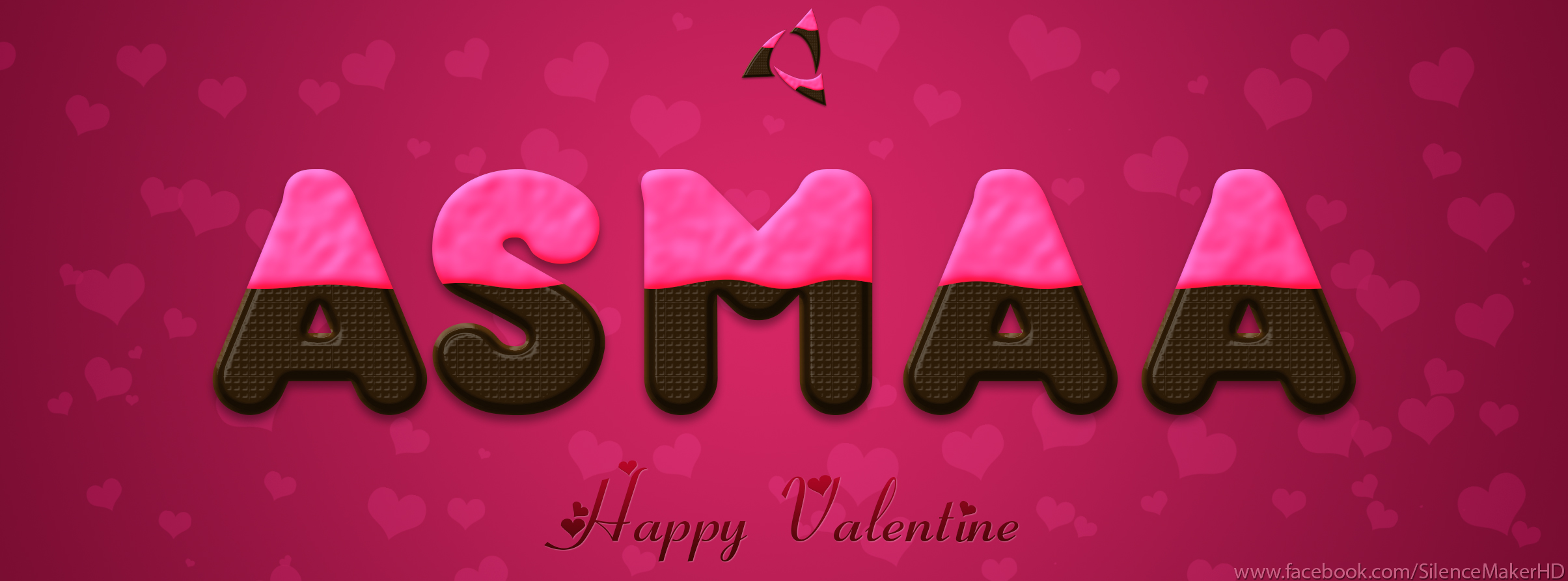 Asmaa Name...Valentine Style by SilenceMakerHD