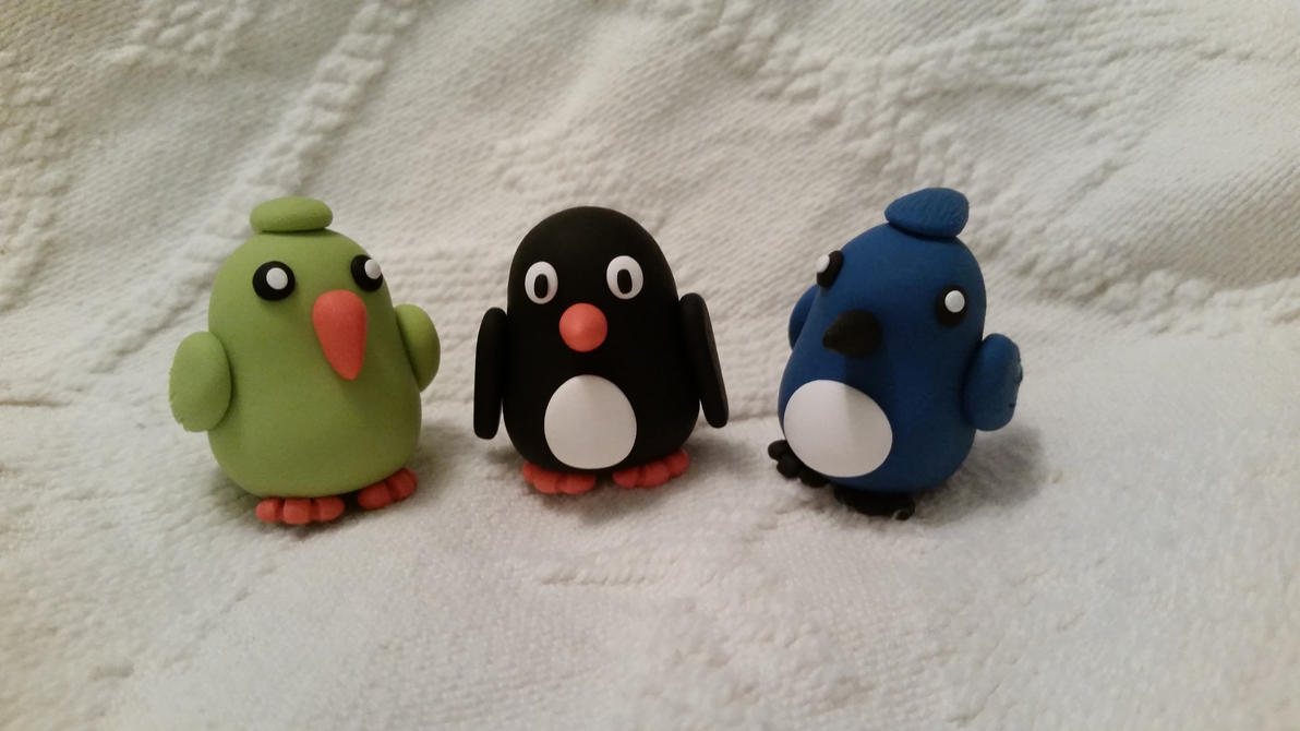 Three Little Birds by plutoniumcaterpillar