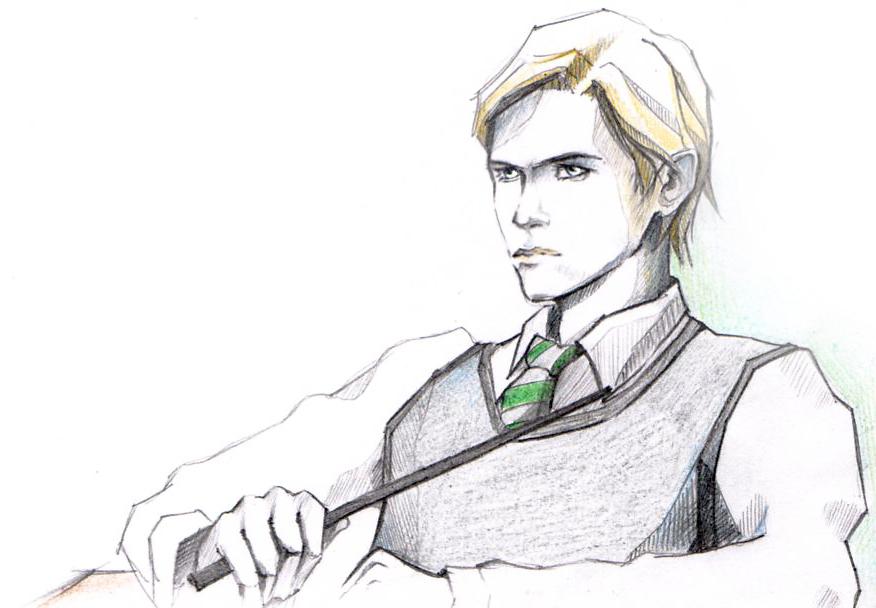 Draco Malfoy by alex-malfoy