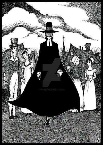 The Minister's Black Veil by inn-spectre on DeviantArt
