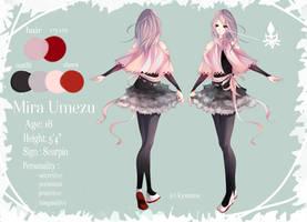 OC ref: Mira by DearKyoume