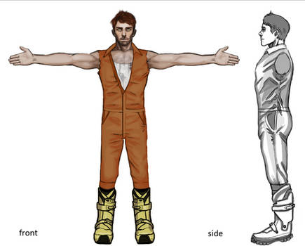 Blueprints for a Character: Subject F