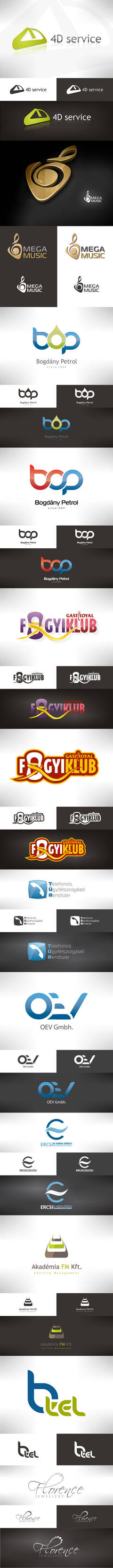 Best of my logo designs