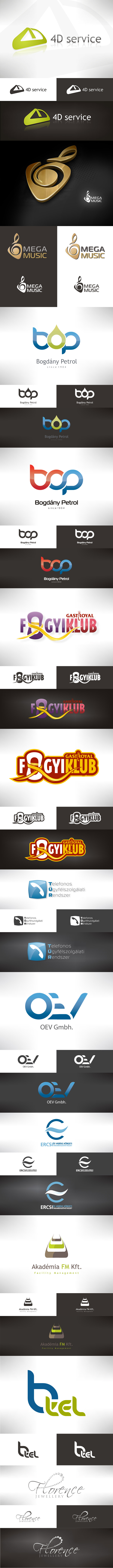 Best of my logo designs by VictoryDesign