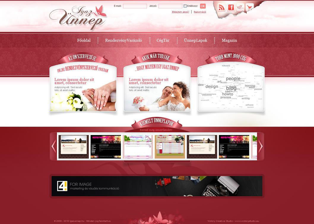 wedding website designs