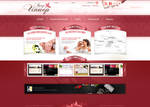 Wedding service - web design