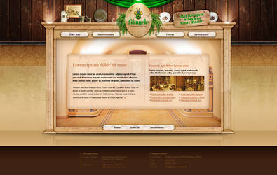 Furniture makers - web design by VictoryDesign