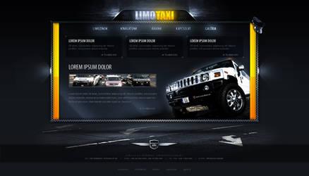 LimoTaxi - web design by VictoryDesign