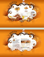 Bakery - web design by VictoryDesign