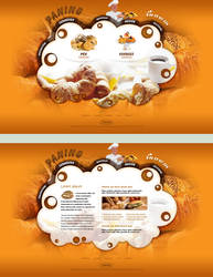 Bakery - web design