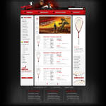 Squash Shop webdesign