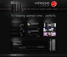Winesave website - v1 by VictoryDesign