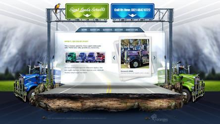 SLS web design by VictoryDesign