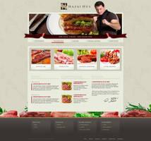 Hazai Hus weboldal terv by VictoryDesign