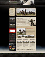 Web design: equestrian events by VictoryDesign