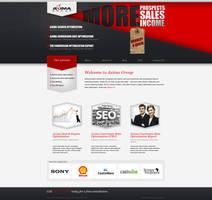 Web design: Axima