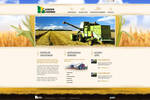 web design: Europe Farming
