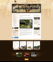 Web design: Varga Tanya by VictoryDesign