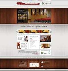 Web Design: Windham Millwork by VictoryDesign