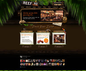 Web Design: Reef Road Restaurant