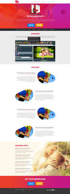 Web design: Movee - Product