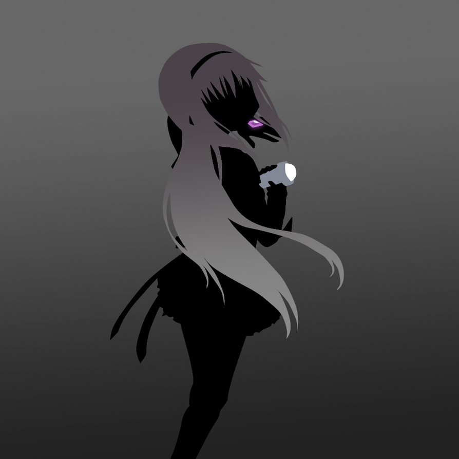 Homura Silhouette by scrble567