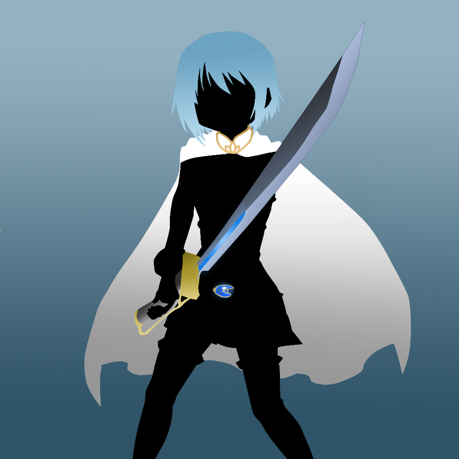 Sayaka Silhouette by scrble567