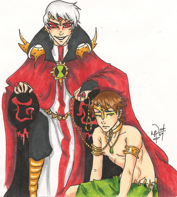 BEN10___Master_and_Slave_by_allegory1107