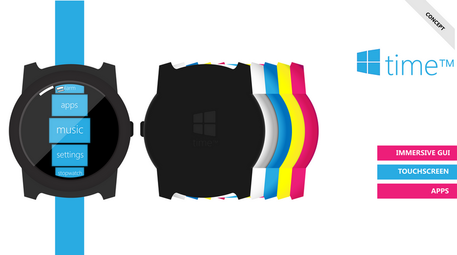microsoft watch - time by bswas
