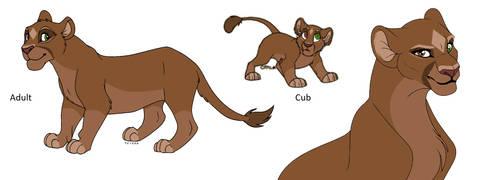 Lion King OC: Shaquana by PanaceaTheAnti-Venom
