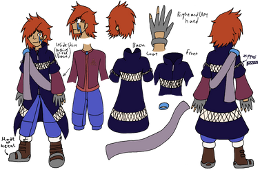 Final Fantasy OC: Chlog Obair Reference Sheet