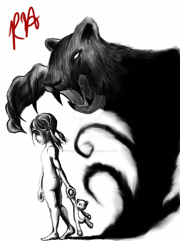 shadow monster by singingstormwind on deviantart