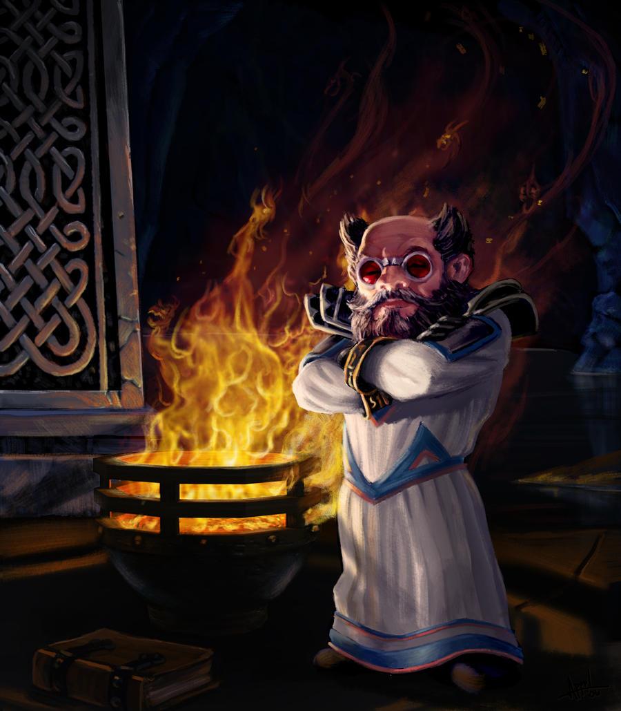 Warcraft - Mezzik Darkspark