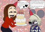 OTP Challenge 27, On one of their birthdays by HTFWhiskersthecat