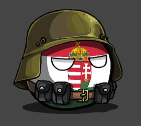 Hungary during WWII by KaliningradGeneral