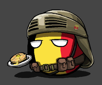 Belgium during WWI + Waffles