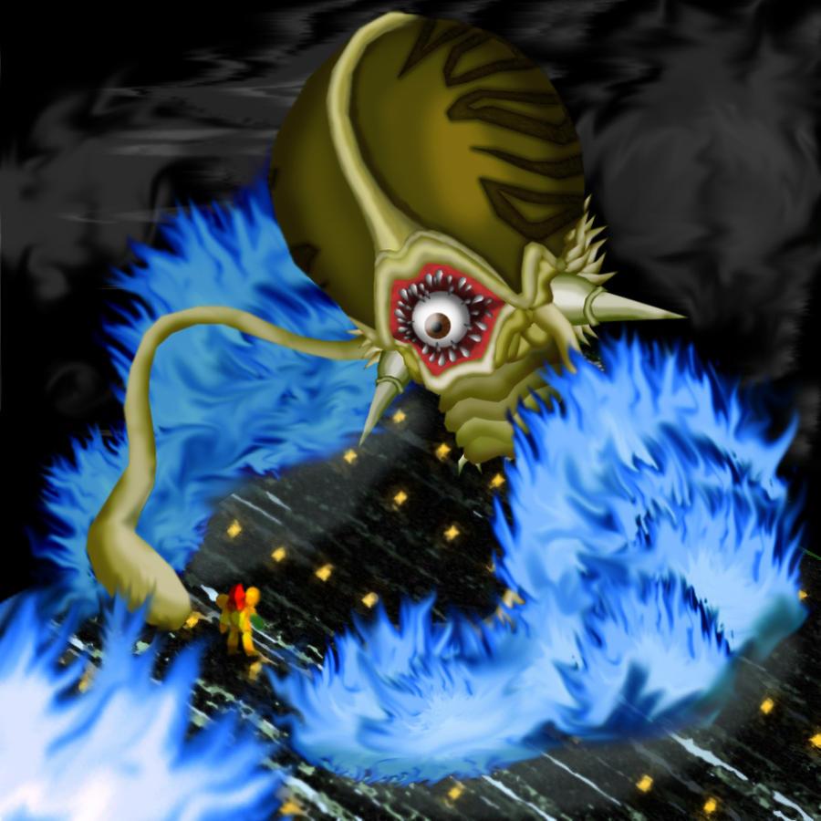 Phantasmic Fiend - Phantoon- by AetherEch0s