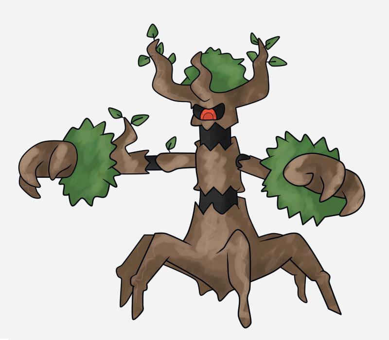 Trevenant Images | Pokemon Images