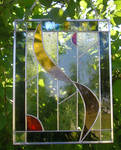 First Stained Glass Design by CeltCraft