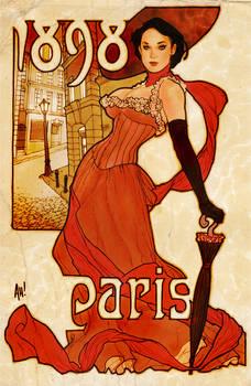 Paris 1898 AH coloured