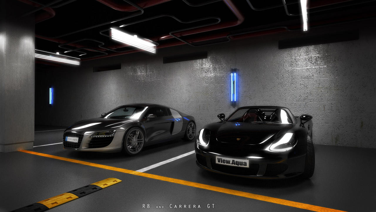 My Car Park By View On Deviantart