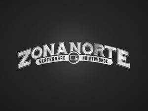 Logo Zona Norte Skateboad