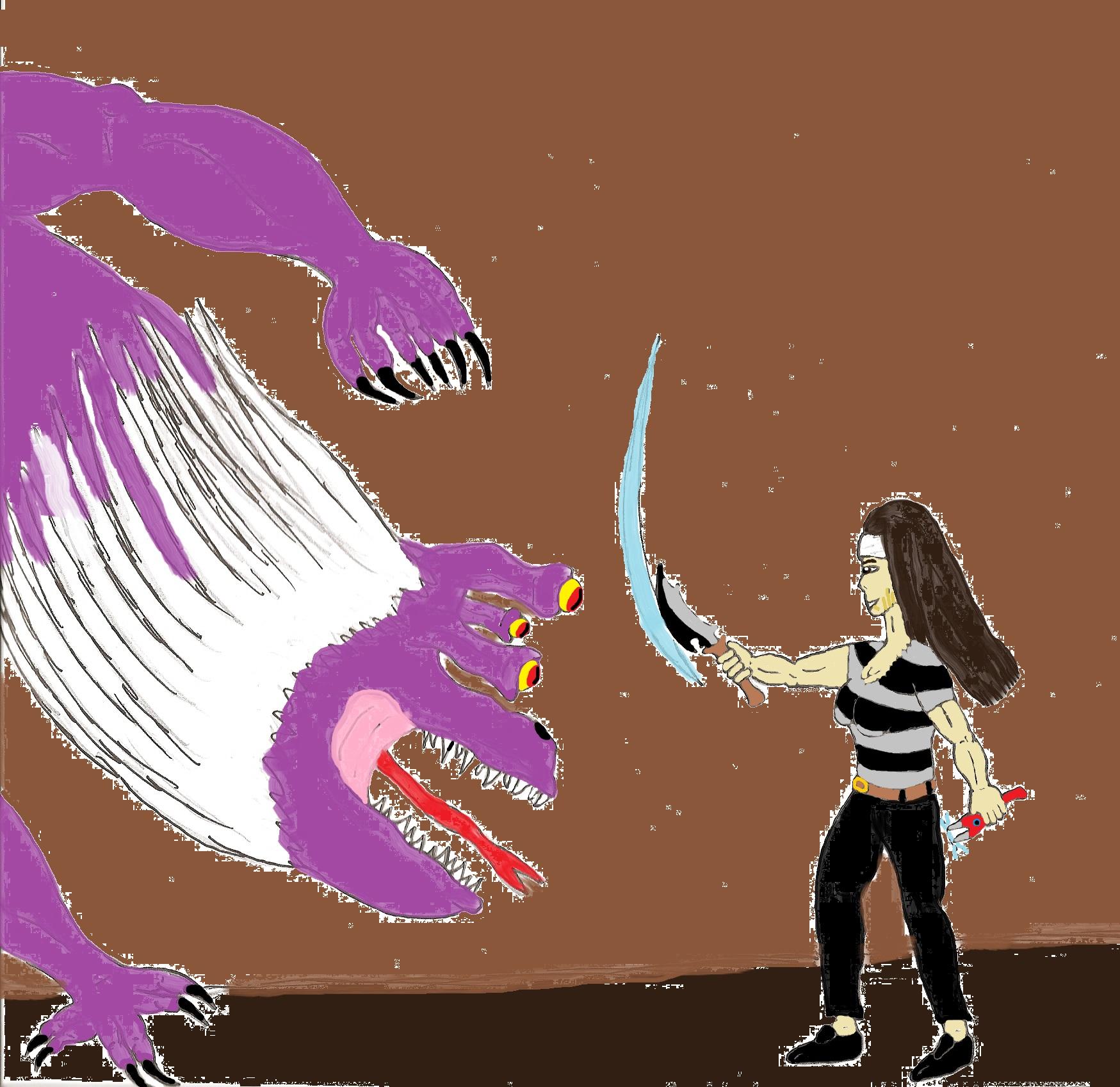 Toriko: Akimoto VS Devil Python By ChikaraRyoku On DeviantArt