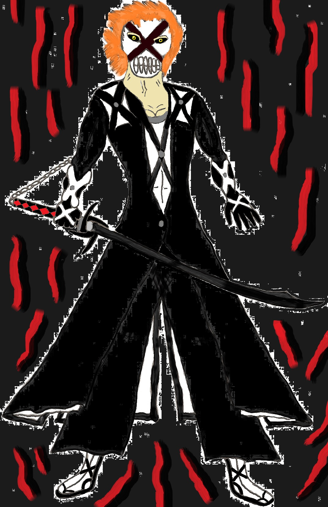 Ichigo: New Bankai + Hollowfication by ChikaraRyoku on ...