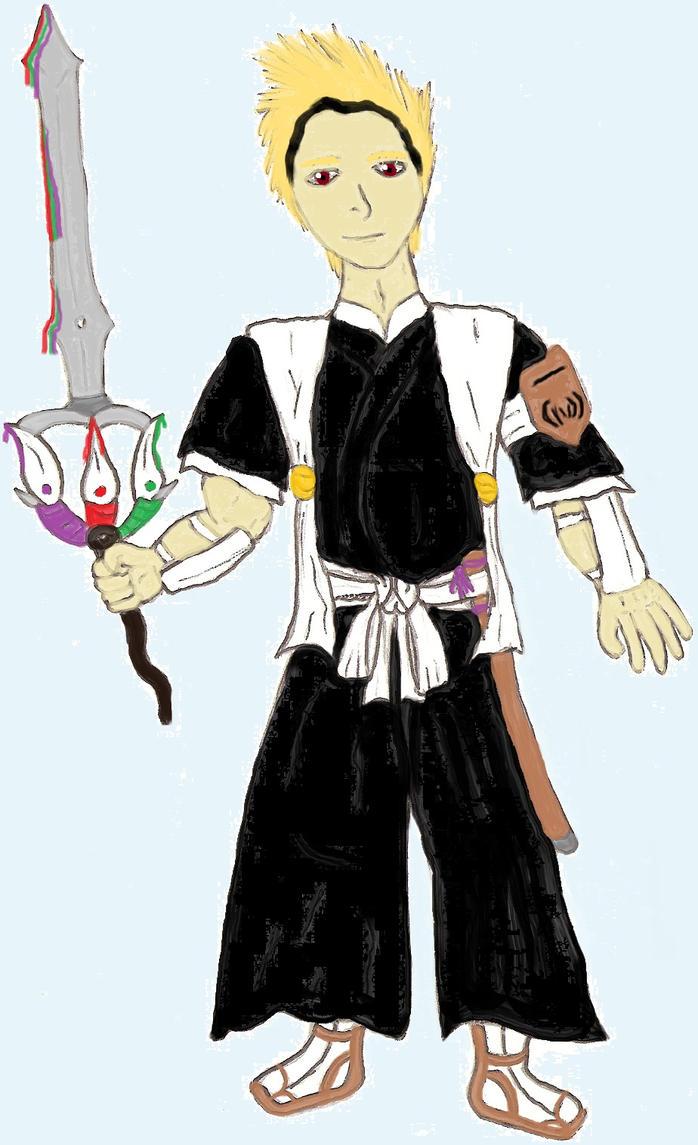 Art Trade: Choujiro-Sasakibe. Squad 1 Lieutenant by ChikaraRyoku